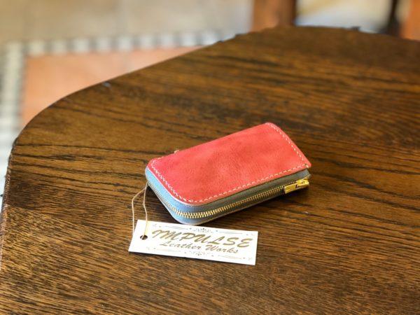 革・ファスナー・縫い糸を選んで作るオーダーキーケース
