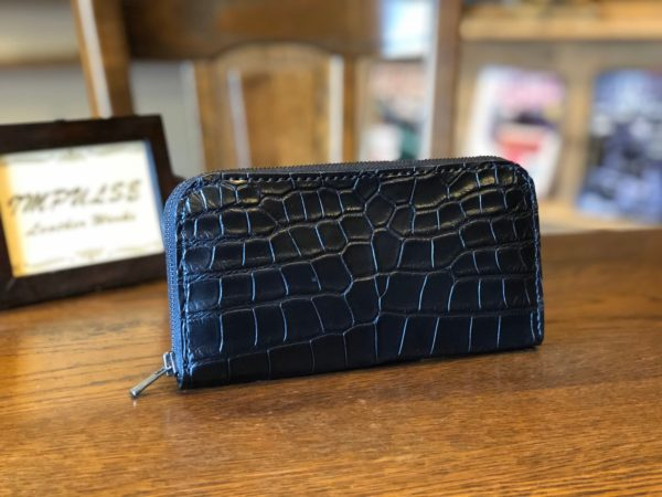 最高級クロコダイルで作るオーダーメイドの財布