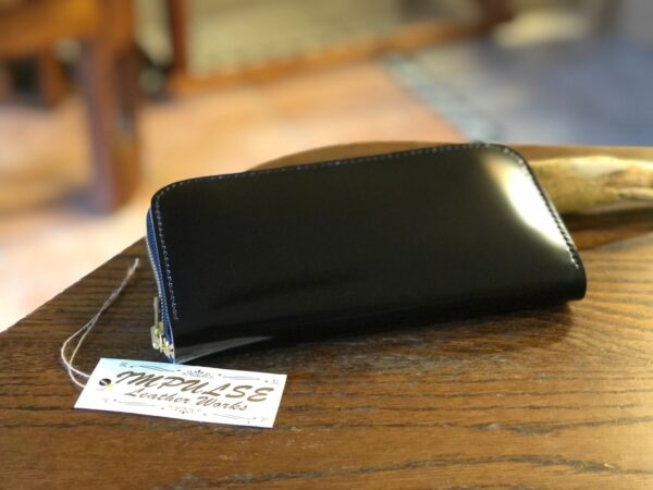 高級素材コードバンのお財布