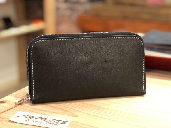 広島産ジビエレザーのお財布